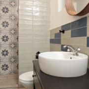 Szoba 3. fürdőszoba. Istenhegyi Vendégház, Rátka